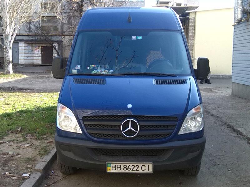 Заказ/аренда Микроавтобуса Mercedes-Benz Sprinter 8 мест