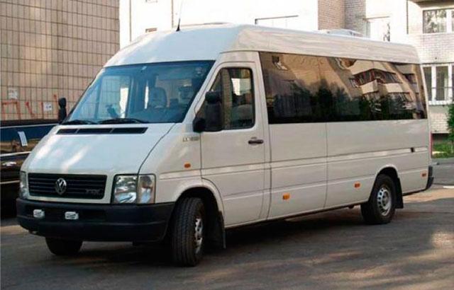 Заказ/аренда Микроавтобуса Volkswagen LT 35 18 мест