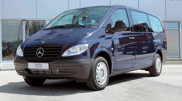 Заказ/аренда Микроавтобуса Mercedes-Benz Vito