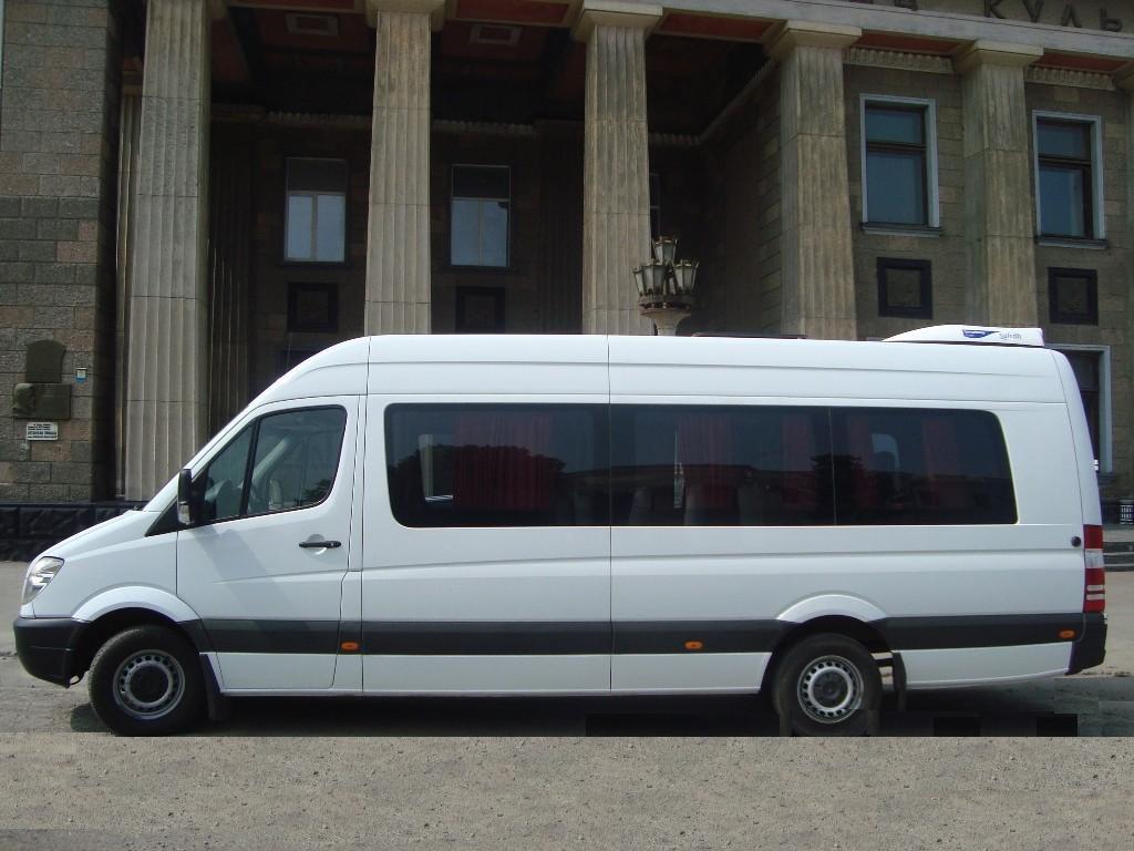 Заказ/аренда Микроавтобуса Mercedes-Benz Sprinter 19 мест